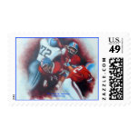 '4th & Goal' Postage Stamps