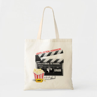 4th Grade Movie Clapboard Bags