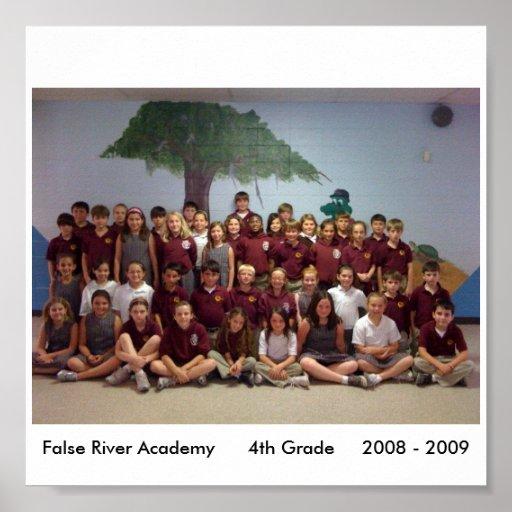 4th Grade Poster