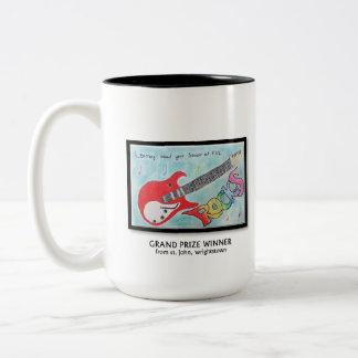 4th Grade Poster Contest Winner 2011 Two-Tone Coffee Mug