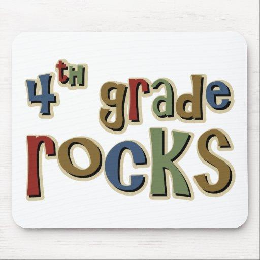 4th Grade Rocks Fourth Mouse Pad Zazzle