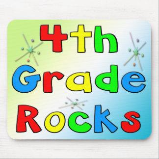 4th Grade Rocks Mouse Pad