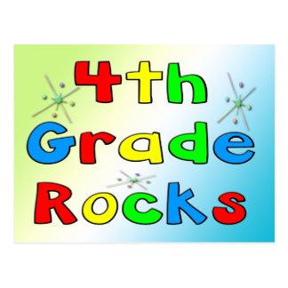 4th Grade Rocks Post Cards