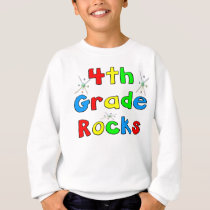 4th Grade Rocks Sweatshirt