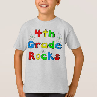 4th Grade Rocks T-Shirt