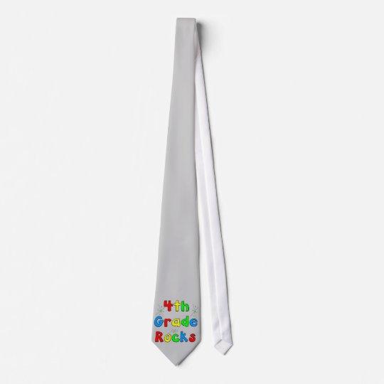 4th Grade Rocks Tie