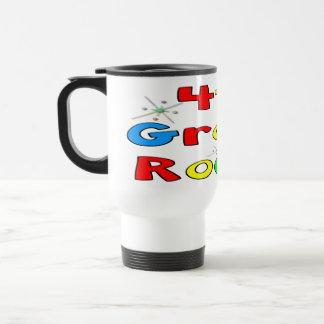 4th Grade Rocks Travel Mug
