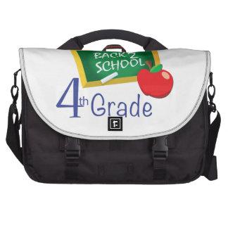 4th Grade Teacher Laptop Computer Bag