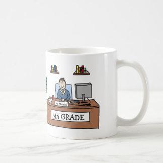 4th Grade Teacher Mug - Custom