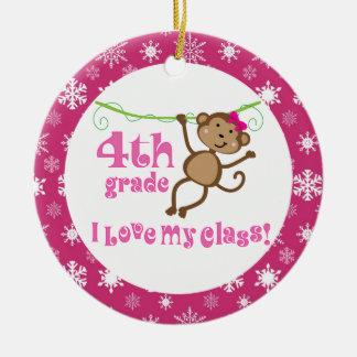 4th Grade Teacher Ornament