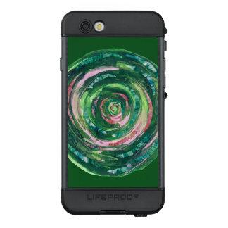 4th-Heart Chakra #2 green-pink artwork LifeProof NÜÜD iPhone 6s Case