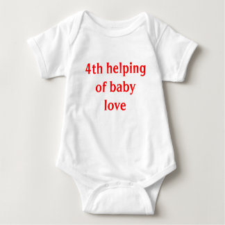 4th helping of baby love baby bodysuit