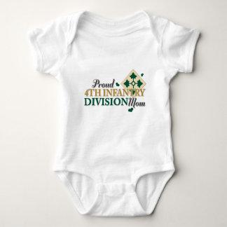 4th ID Mom Baby Bodysuit