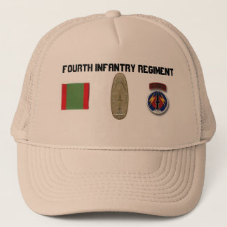 4th INF NCO/OFF Pershing Professional.. Trucker Hat