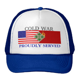 4TH INFANTRY COLD WAR HAT
