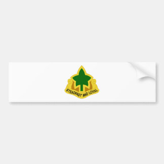 4th Infantry Division Bumper Sticker