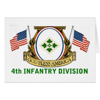 4th INFANTRY DIVISION Card