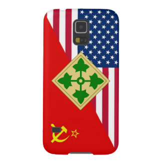 """4th Infantry Division """"Cold War"""" Paint Scheme Case For Galaxy S5"""