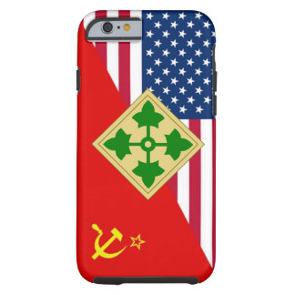 "4th Infantry Division ""Cold War"" Paint Scheme Tough iPhone 6 Case"