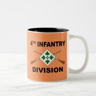 4th ID 4th Infantry Division Coffee Mug