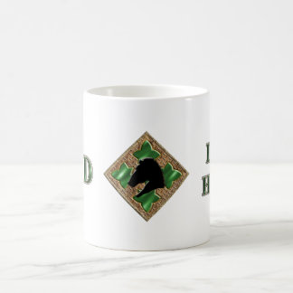 4th Infantry Division Iron Horse Classic White Coffee Mug