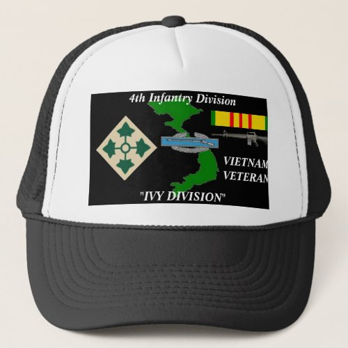 4th Infantry DivisionIVY DIVISION Ball Caps