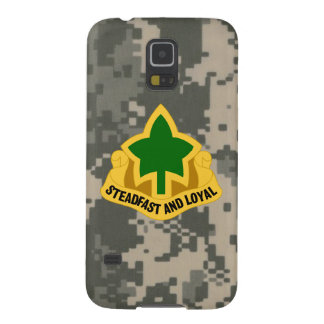 """4th Infantry Division """"Ivy Division"""" DUI Galaxy S5 Case"""