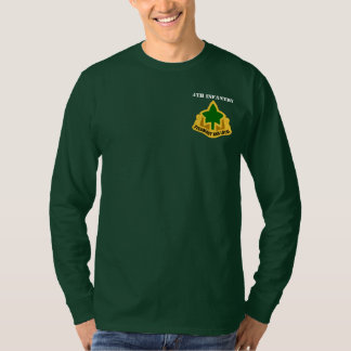 4th Infantry Division Long Sleeve Tee