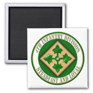 4th Infantry Division Magnet