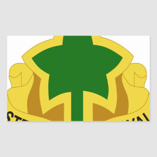 4th Infantry Division Rectangular Sticker