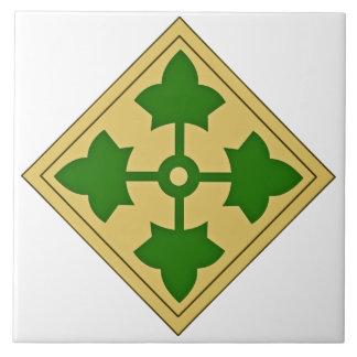 4th Infantry Division Tile