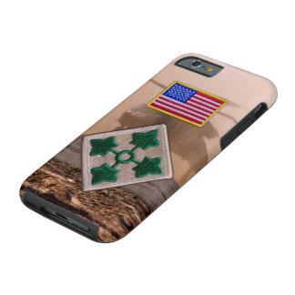4th infantry division veterans vets patch tough iPhone 6 case