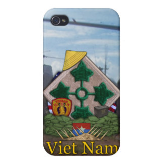 4th infantry division vietnam nam i iPhone 4 covers