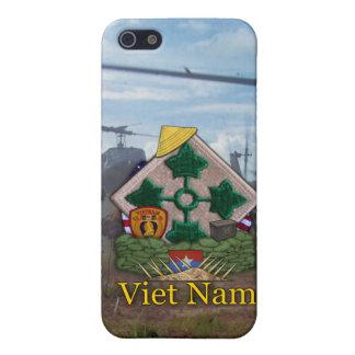 4th infantry division vietnam nam iphone case