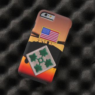 4th Infantry Division Vietnam Nam War patch Tough iPhone 6 Case