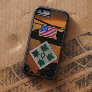 4th Infantry Division Vietnam Nam War patch Tough Xtreme iPhone 6 Case