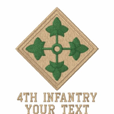 4th Infantry Embroidered Polo Shirt