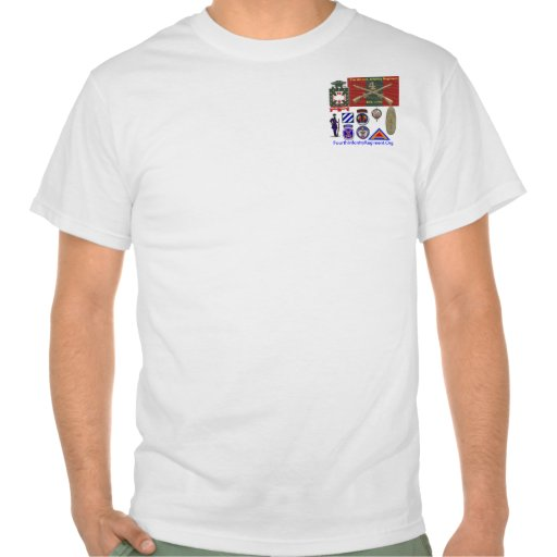 4th Infantry History Tshirt