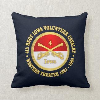4th Iowa Cavalry Pillow