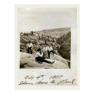 4th July 1907 Silver Bow, Montana Postcard