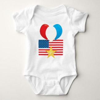 4th July Balloons T-shirts