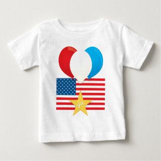 4th July Balloons Tee Shirts