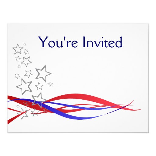 4th July Barbecue invite