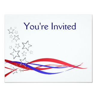 4th July Barbecue invite