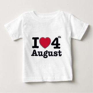 4th july birthday design baby T-Shirt