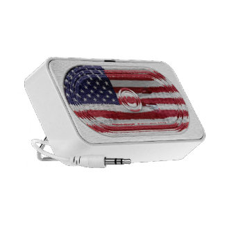 4th July Independence Day Doodle Speaker USA