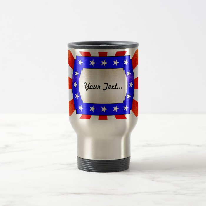 4th July Independence Day Travel Mug
