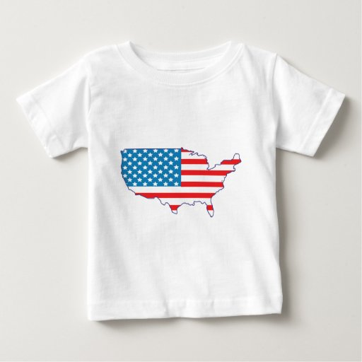 4th July - Independence Day - USA Flag Continent Infant T-shirt