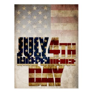 July 4th Independence Day V2.0 2020 Postcard