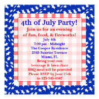 4th July Invitation
